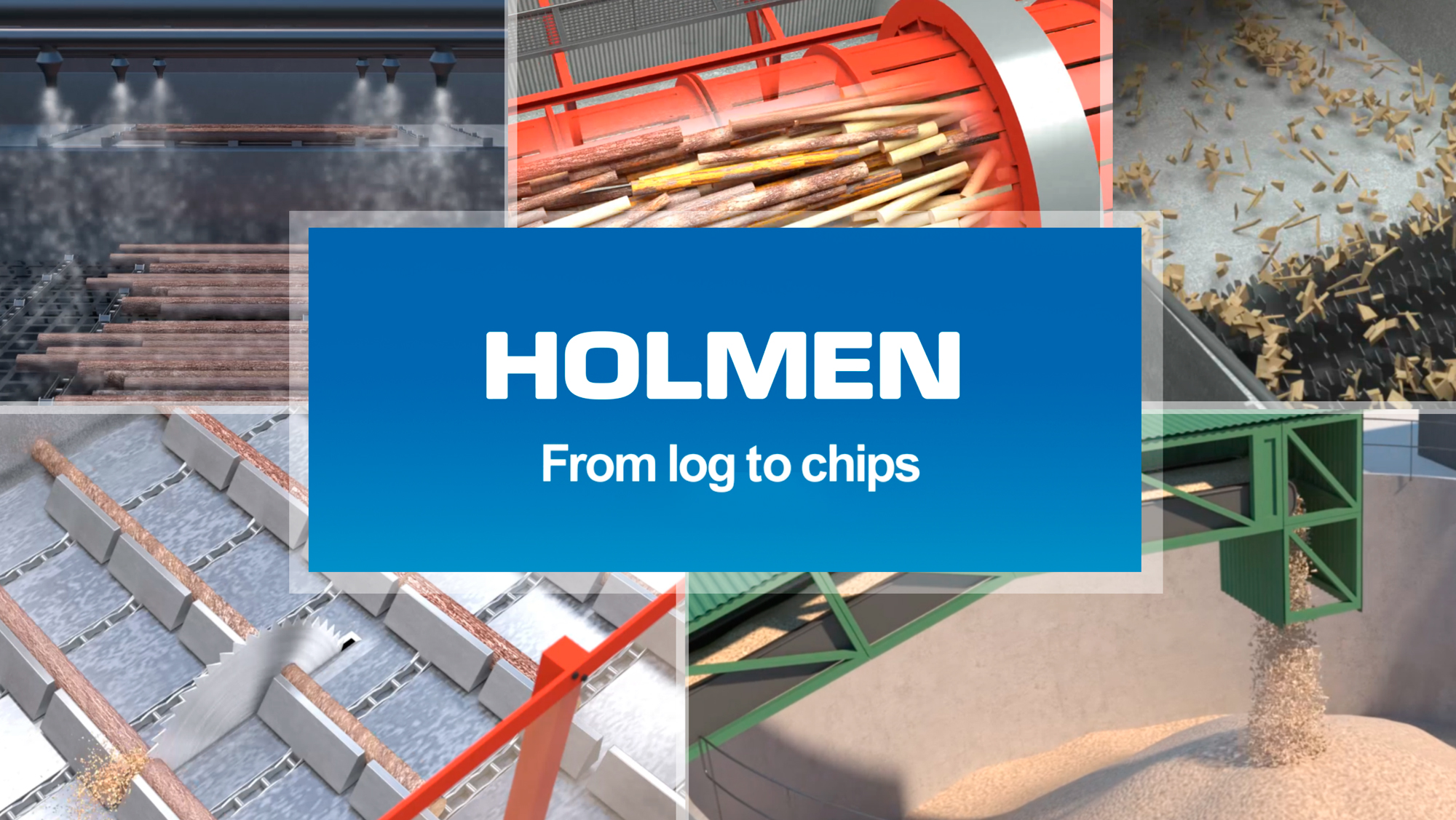 HOLMEN BRAVIKEN – From log to chips