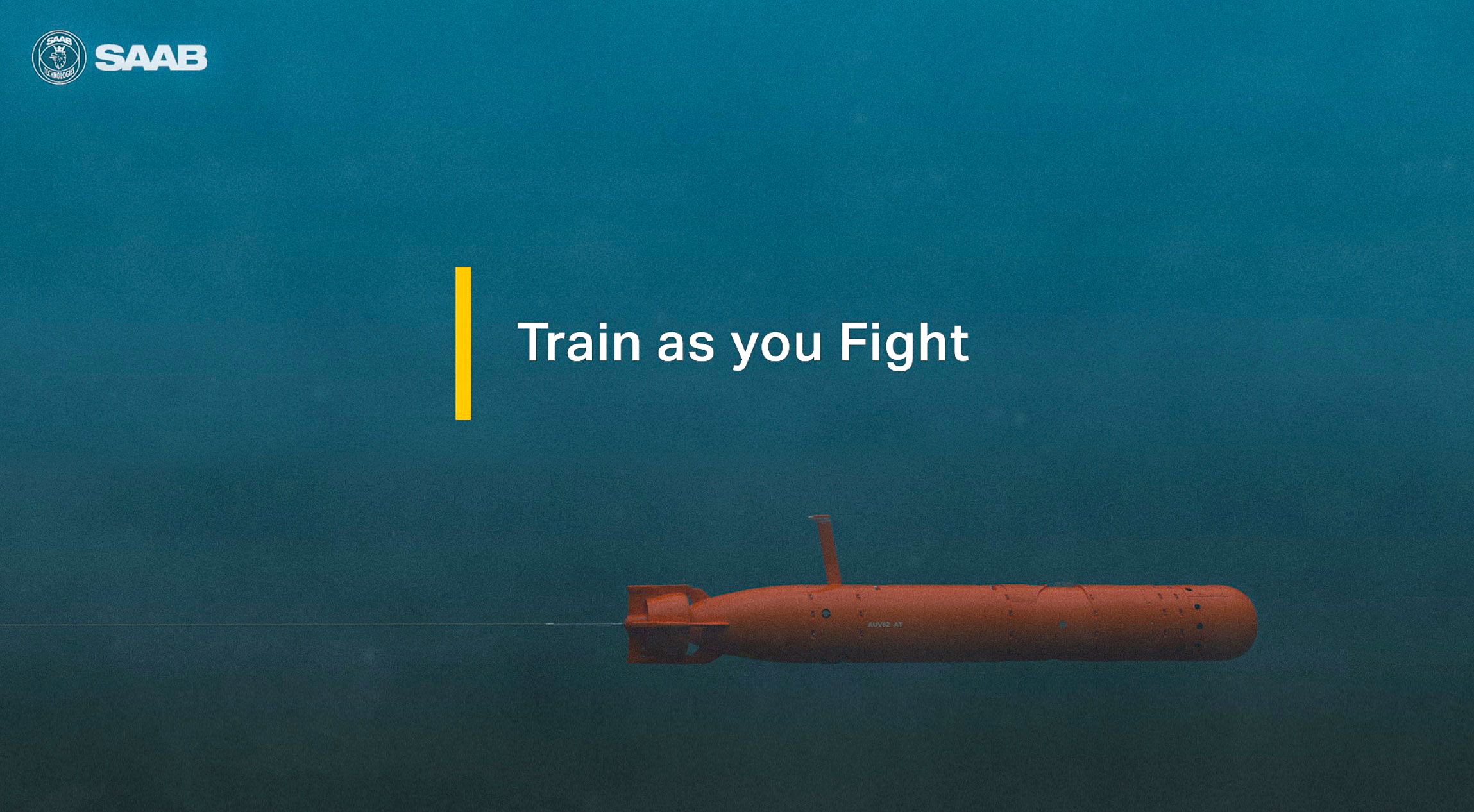 SAAB AUV62-AT – Train as you fight